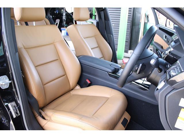 メルセデス・ベンツ M・ベンツ E350BE AVG ブラバス仕様コンプ 19AW 茶本革
