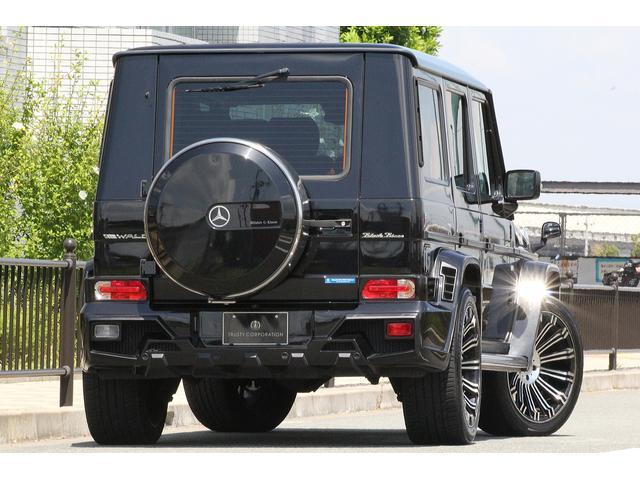 メルセデス・ベンツ M・ベンツ G550 ロングWALD BlackBison 黒本革 SR