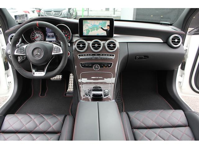 C63 S エディション1 限定車 保証プラス付 左ハンドル(3枚目)