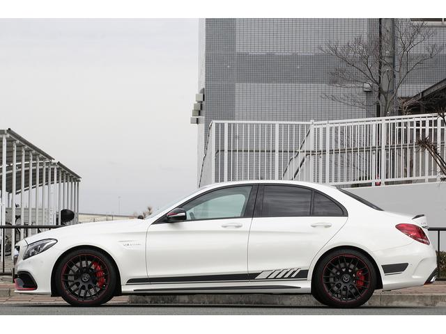 C63 S エディション1 限定車 保証プラス付 左ハンドル(10枚目)