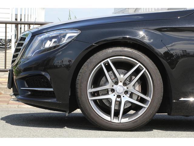 S300hロング ラグジュアリーパッケージ・AMGラインエアロ 360度カメラ AMG19インチホイール 黒本革シート パノラミックスライディングルーフ パワーオートトランク シートヒーター ベンチレーター(4枚目)