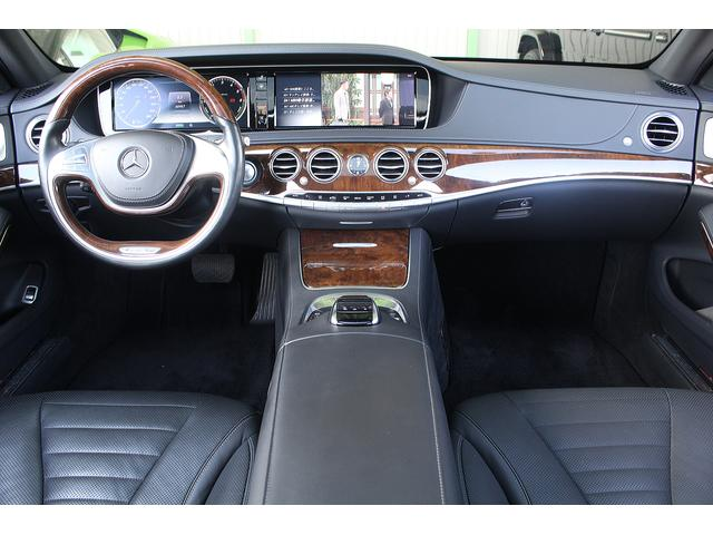 S300hロング ラグジュアリーパッケージ・AMGラインエアロ 360度カメラ AMG19インチホイール 黒本革シート パノラミックスライディングルーフ パワーオートトランク シートヒーター ベンチレーター(11枚目)