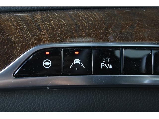 S550ロング 後期WALDカスタム Black Bison ジャレット22インチホイール 新品パーツ オレンジゴールドキャリパー パノラミックスライディングルーフ 黒本革シート レーダーセーフティ ブルメスター(27枚目)