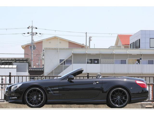 SL350ブルーエフィシェンシー AMGスポーツパッケージ 社外20インチホイール マジックスカイルーフ 左ハンドル ローダウン レーダーセーフティ 地デジ 黒本革シート シートヒーター パワーオートトランク 電動バリオルーフ(6枚目)
