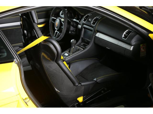 ポルシェ ポルシェ ケイマン GT4 カーボンフルバケ スポーツエグゾースト 左ハンドル
