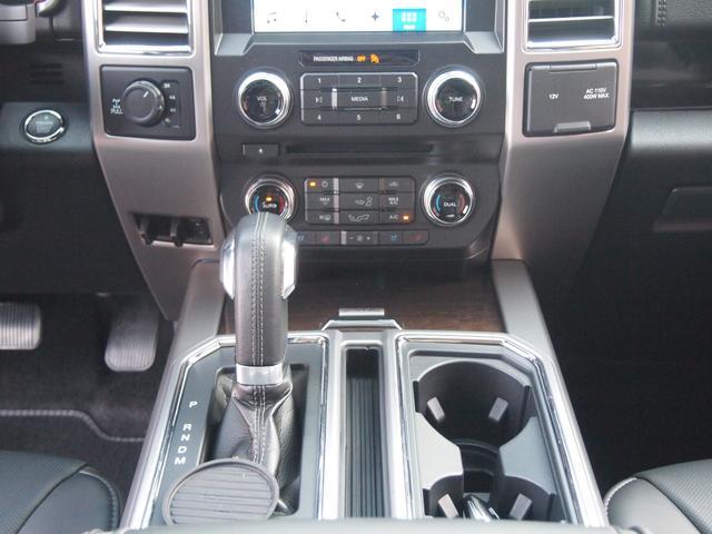 プラチナムエコブースト4WD スーパークルー 新車並行(16枚目)