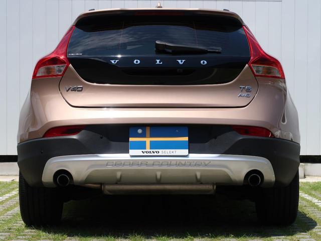 ボルボ ボルボ V40 クロスカントリー T5AWD SE 専用本革 パークアシスト
