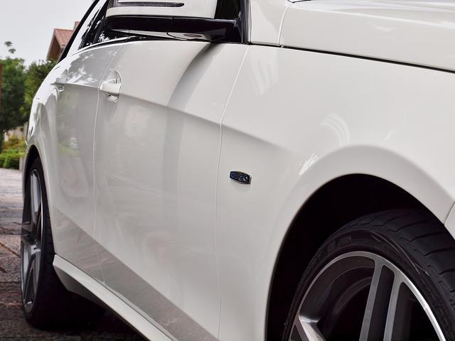 E250CGI/BE/125EDワゴン内張ホワイトレザー張替(14枚目)