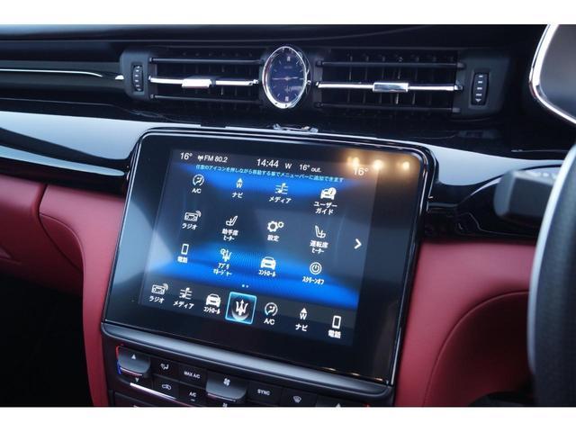 GT S グランスポーツ ワンオーナー フルナチュラルレザー トライデントステッチ Rドア拡張キーレス ブラックグロスFグリル ソフトクローズドア アダプティブクルーズ 赤キャリパー ハーマンカードン MY18(12枚目)