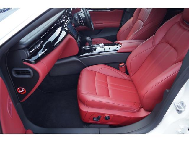 GT S グランスポーツ ワンオーナー フルナチュラルレザー トライデントステッチ Rドア拡張キーレス ブラックグロスFグリル ソフトクローズドア アダプティブクルーズ 赤キャリパー ハーマンカードン MY18(19枚目)