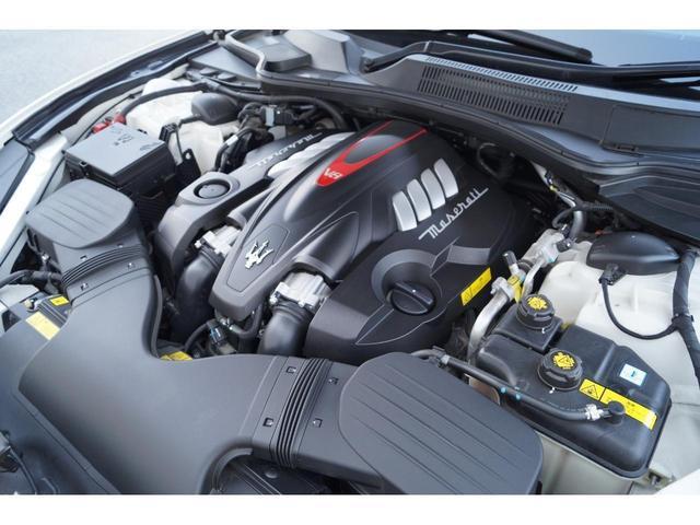 GT S グランスポーツ ワンオーナー フルナチュラルレザー トライデントステッチ Rドア拡張キーレス ブラックグロスFグリル ソフトクローズドア アダプティブクルーズ 赤キャリパー ハーマンカードン MY18(25枚目)