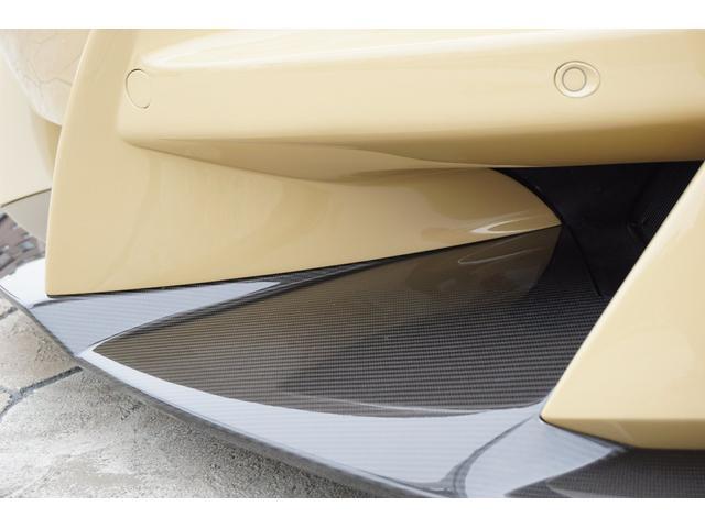 フロントリップにもカーボンが使用されています。