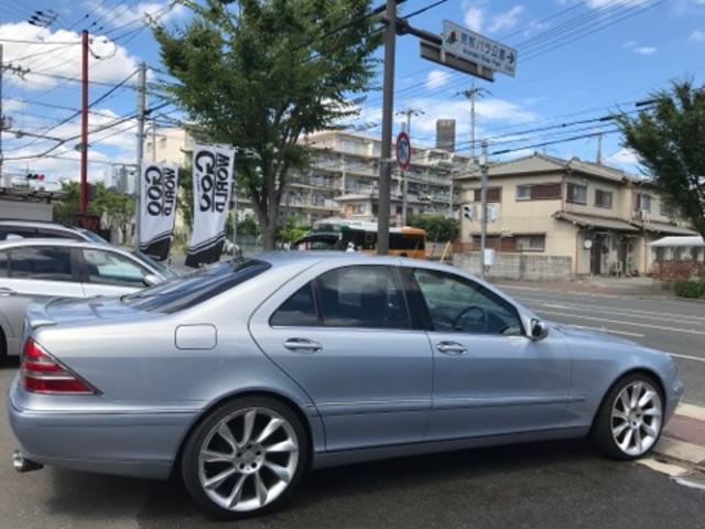メルセデス・ベンツ M・ベンツ S430 ロリンザAW サンルーフ 革 ナビ