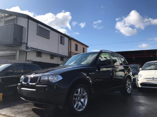 BMW BMW X3 2.5i 純正ナビ パワーシート Mスポ18インチアルミ
