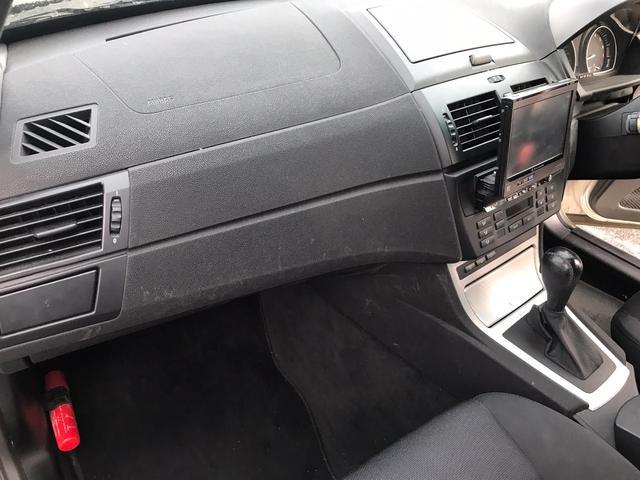 BMW BMW X3 2.5i AW 社外ナビ