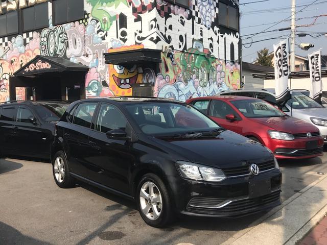 フォルクスワーゲン VW ポロ TSIコンフォート ワンオーナー 社外ナビ 地デジ Bカメラ