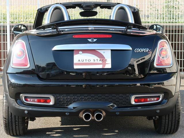 MINI MINI クーパーS ロードスター フルセグ 黒革 1オーナ 6速MT