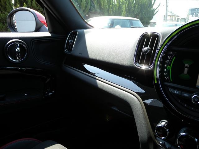 ジョンクーパーワークス クロスオーバー 純正HDDナビ LEDヘッドライト バックカメラ+PDC ドライビングモード アクティブクルーズコントロール 18インチAW ヘッドアップディスプレイ ハーフレザースポーツシート アルミペダル(67枚目)