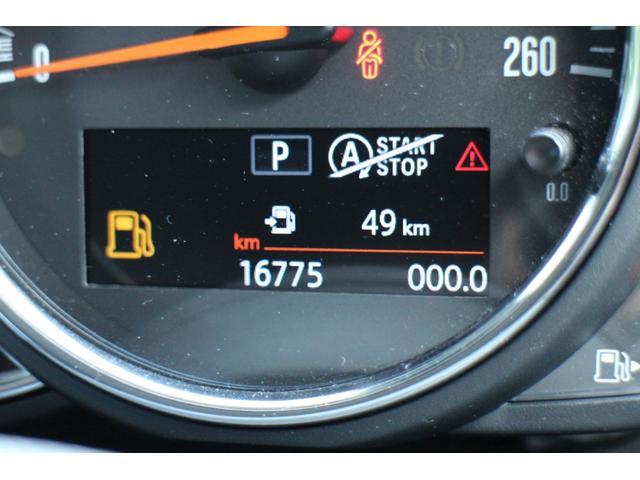 クーパー NAVI クルコン LEDライト Bカメラ クルーズコントロール ボンネットストライプ アームレスト(26枚目)
