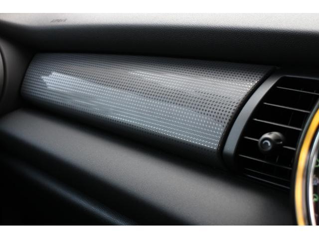 クーパー NAVI クルコン LEDライト Bカメラ クルーズコントロール ボンネットストライプ アームレスト(41枚目)