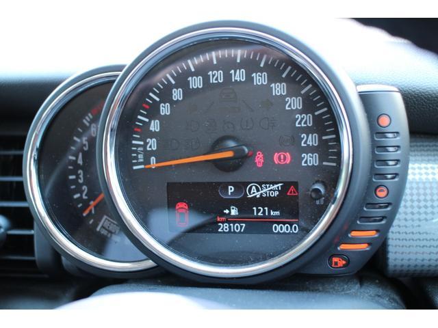 クーパー NAVI 15インチAW ブラックルーフ LEDヘッドライト コンフォートアクセス オートライト・レインセンサー(75枚目)