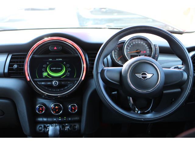 クーパー NAVI 15インチAW ブラックルーフ LEDヘッドライト コンフォートアクセス オートライト・レインセンサー(76枚目)
