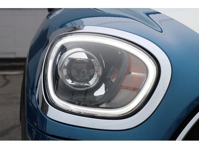 クーパーD クロスオーバー オール4 Fガラス(ヒートガラス) LEDヘッドライト アディショナルヘッドライト オートライト・レインセンサー(12枚目)