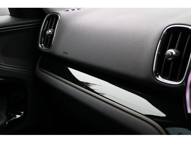 クーパーD クロスオーバー オール4 Fガラス(ヒートガラス) LEDヘッドライト アディショナルヘッドライト オートライト・レインセンサー(44枚目)