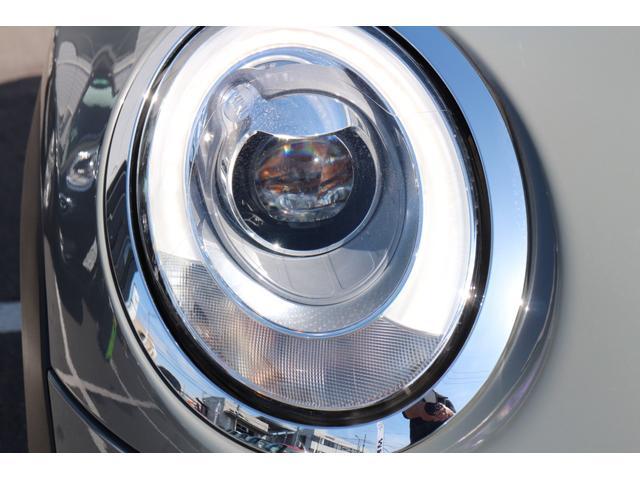 クーパーD ナビ ペッパーPKG Cアクセス Bカメラ+PDC BJミラーキャップ LEDヘッドライト ルーフキャリア オートライト レインセンサー ルーフBJステッカー(色あせ有)(12枚目)