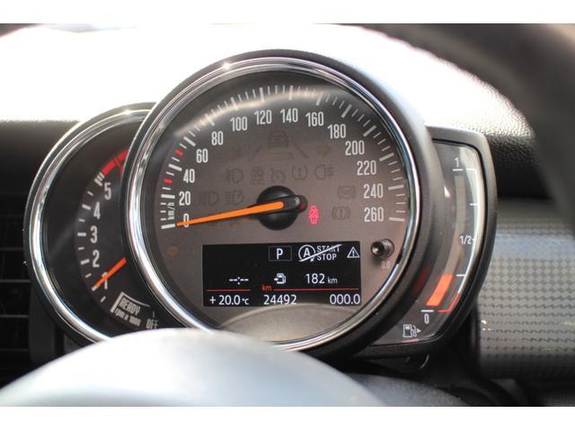 クーパーD ナビ ペッパーPKG Cアクセス Bカメラ+PDC BJミラーキャップ LEDヘッドライト ルーフキャリア オートライト レインセンサー ルーフBJステッカー(色あせ有)(24枚目)