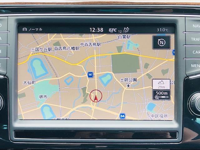 TSIハイライン 純正8インチナビBカメラ 黒革シート禁煙車(12枚目)