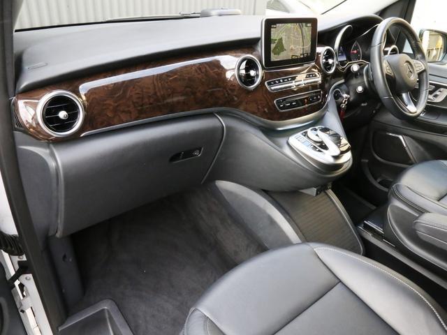 V220d アバンギャルド ロング 禁煙 純正ナビTV 360度カメラ LEDヘッドライト 19インチAW 電動リアゲート 後席エアコン レーダーセーフティパッケージ 前車追従クルコン 衝突被害軽減ブレーキ(58枚目)