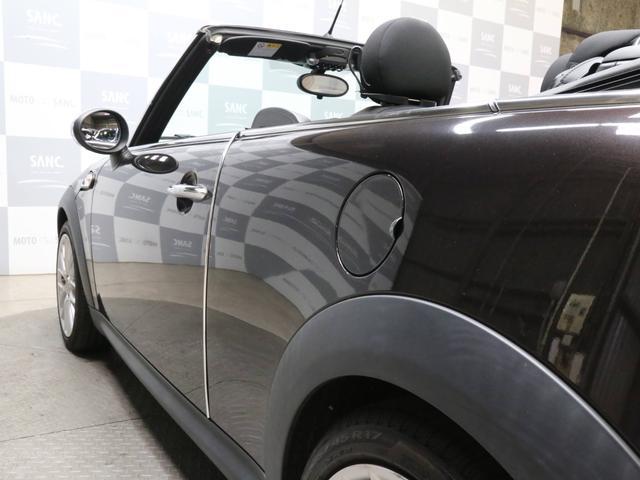 クーパーS コンバーチブル 禁煙車 ディーラー記録簿 スペアキー ブラックインナーヘッドライト 17インチアルミ リアセンサー クロームラインインテリア&エクステリア ETC(21枚目)