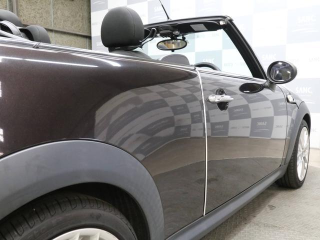 クーパーS コンバーチブル 禁煙車 ディーラー記録簿 スペアキー ブラックインナーヘッドライト 17インチアルミ リアセンサー クロームラインインテリア&エクステリア ETC(22枚目)