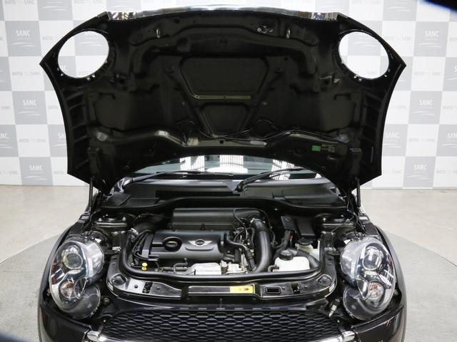 クーパーS コンバーチブル 禁煙車 ディーラー記録簿 スペアキー ブラックインナーヘッドライト 17インチアルミ リアセンサー クロームラインインテリア&エクステリア ETC(23枚目)