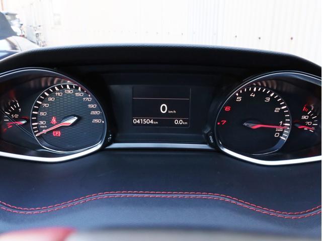 GTi250 byプジョースポール 左ハンドル6速MT ワンオーナー禁煙 純正ナビ フルセグTV バックカメラ 前後コーナーセンサー クルコン アイスト(16枚目)