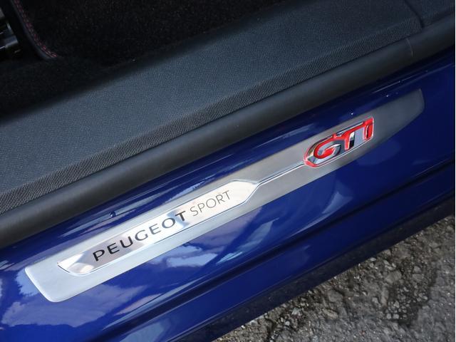 GTi250 byプジョースポール 左ハンドル6速MT ワンオーナー禁煙 純正ナビ フルセグTV バックカメラ 前後コーナーセンサー クルコン アイスト(56枚目)