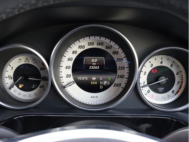 E250 ステーションワゴン アバンギャルド 1オーナー禁煙 ディーラー記録簿 純正ナビ フルセグTV Bカメラ ステアリングアシスト付きアダプティブクルーズコントロール AMG18AW AMG18インチホイール 大型ブレーキ 電動リアゲート(16枚目)