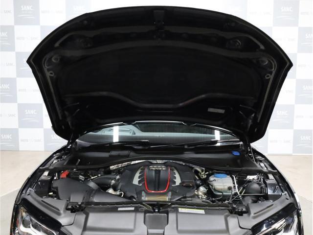 ベースグレード 黒革 カーボンインパネ ナイトビジョンアシスト アウディドライブセレクト アダプティブクルーズコントロール 20インチアルミホイール  LEDヘッドライト 前後カメラ エアサス 大型ブレーキキャリパー(65枚目)