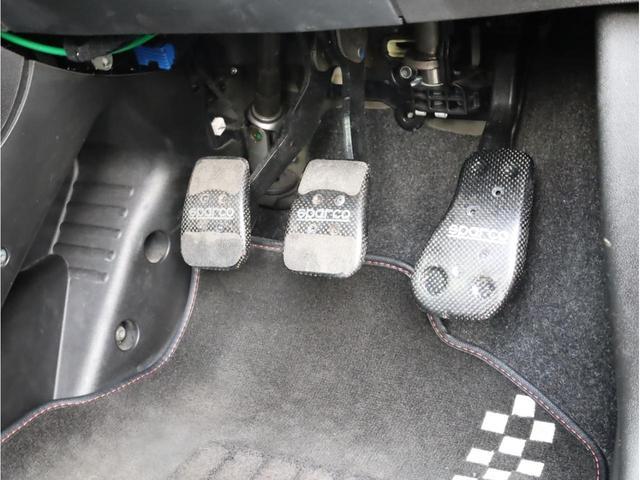 ツインエア 禁煙 ディーラー記録簿 Bluetooth接続機能 スパルコ製ペダルカバー アイスト 専用エアロ 15AW 前後ドラレコ ETC 専用スポーツシート(20枚目)