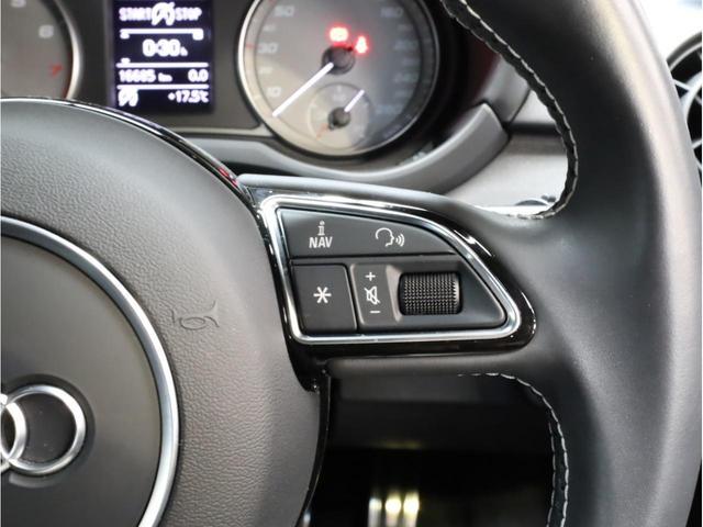ベースグレード 禁煙車 ファインナッパレザーシート シートヒーター アイバッハダウンサス MMIナビTV アドバンスドキー 前後ソナー 18アルミ バイキセノン フラットボトムレザーステアリング LEDテールライト(24枚目)