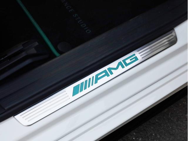 A45AMG4マチックペトロナスグリーンエディション 禁煙 30台限定車 専用エアロ 19AW 大径ブレーキ 専用内装 アルカンタラステアリングホイール AMGスポーツシート 大型シフトパドル 純正ナビTV アダプティブクルーズコントロール バックカメラ(24枚目)