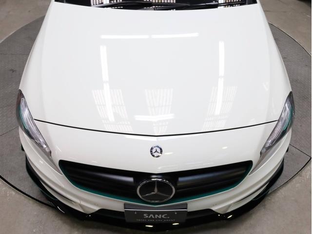 A45AMG4マチックペトロナスグリーンエディション 禁煙 30台限定車 専用エアロ 19AW 大径ブレーキ 専用内装 アルカンタラステアリングホイール AMGスポーツシート 大型シフトパドル 純正ナビTV アダプティブクルーズコントロール バックカメラ(64枚目)