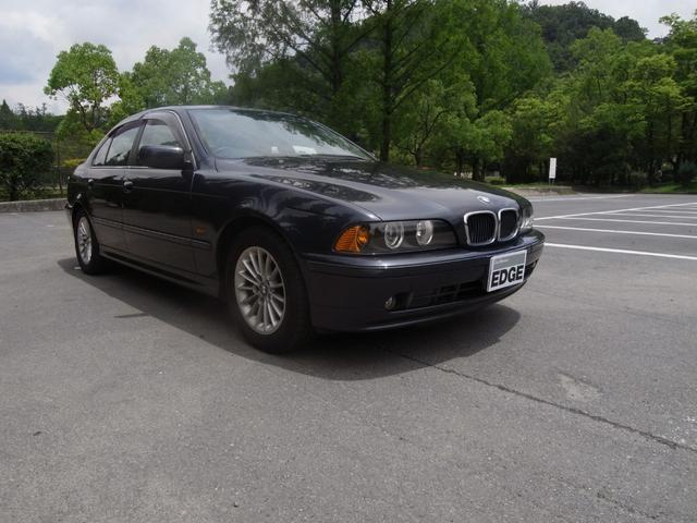 E39 525ハイライン ワンオーナー車入庫しました! BMW正規ディーラー直仕入れです!