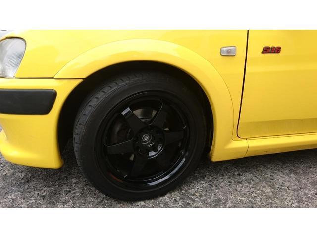 S16 サンダンスイエロー ローダウンスプリング 15インチホイール エアーインダクションキット 現車確認可能(5枚目)