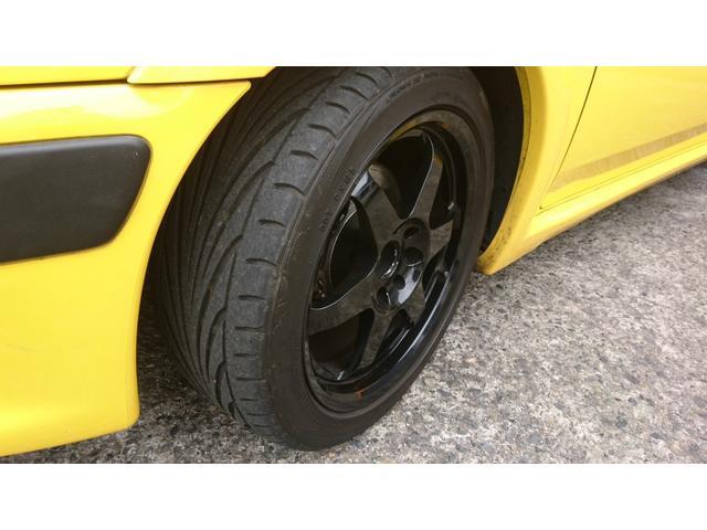 S16 サンダンスイエロー ローダウンスプリング 15インチホイール エアーインダクションキット 現車確認可能(41枚目)
