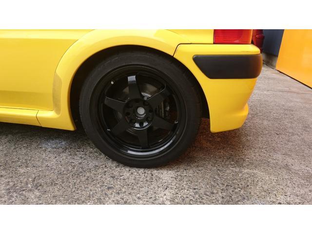 S16 サンダンスイエロー ローダウンスプリング 15インチホイール エアーインダクションキット 現車確認可能(42枚目)