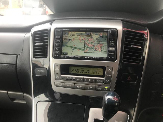 トヨタ アルファードG MS 弊社顧客買取車 ナビ F・Bカメラ タイベル交換済