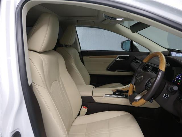 RX450h バージョンL LEXUS認定中古車(19枚目)