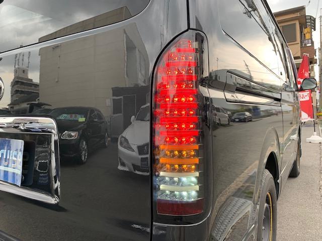 ロングスーパーGL 新品LEDテール クロレザーシートカバー(9枚目)